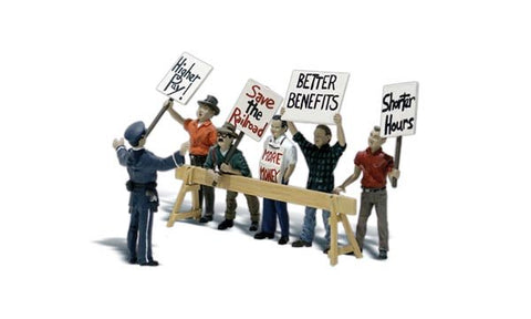 "Woodland Scenics N Scale Scenic Accents ""Picket Line"" (7 pcs) - A2197"