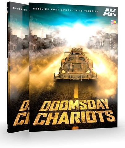 AK Interactive DOOMSDAY CHARIOTS – MODELING POST-APOCALYPTIC VEHICLES - AK258