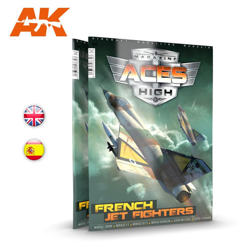 AK Interactive ACES HIGH MAGAZINE ISSUE 15 FRENCH JET FIGHTERS - AK2931