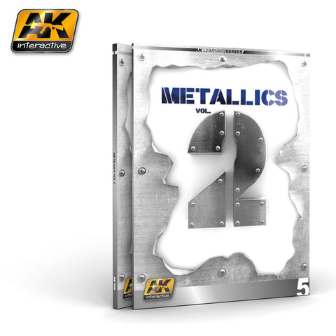 AK Interactive METALLICS VOL 2 LEARNING SERIES 05 AK508