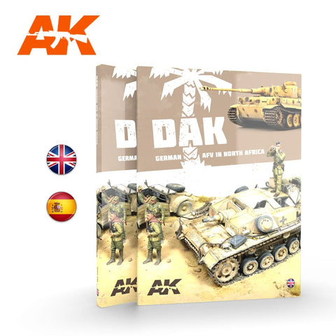 AK Interactive DAK German AFV in North Africa - AK912 Soft-Cover