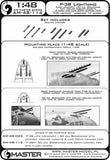 1/48 Master Model P-38 Lightning - Early Armament - AM48114