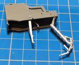 AMK Models 1/48 Die-Cast Landing Gear & Pitot for AMK Mikoyan MiG-31 Foxhound