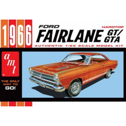 AMT 1/25 scale #1091M/12 1966 Ford Fairlane GT/GTA  Hard Top Model Kit