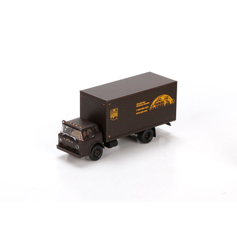 ATHEARN HO scale RTR Ford-C Box Truck (UPS) - ATH29401