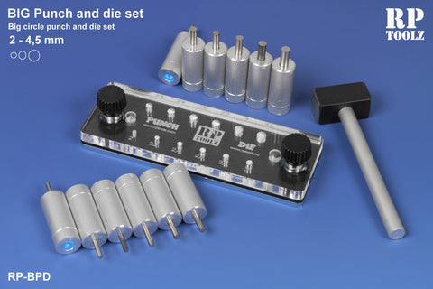 RP Toolz Big Punch and Die Set 2 - 4,5 mm - RPTBPD-01
