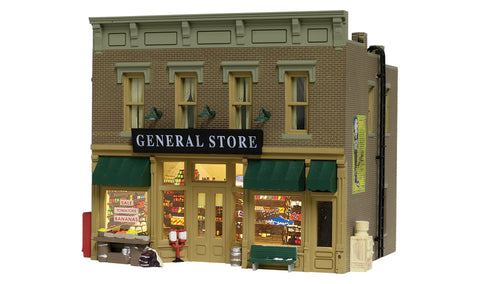 "Woodland Scenics BR4925 N Scale Landmark Structure ""Lubener's General Store"""