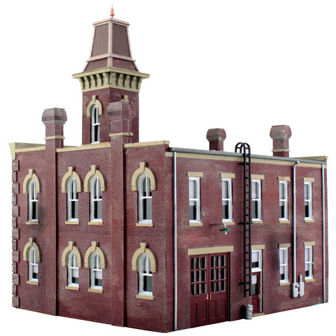 "Woodland Scenics BR4934 N Scale Landmark Structure ""Firehouse"""