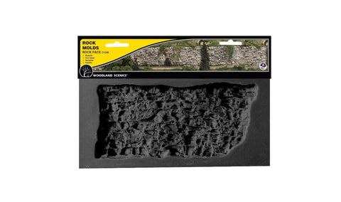 Woodland Scenic C1248 Rock Mold - Rock Face