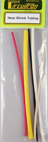 Circuitron 8700 Assorted Heat Shrink Tubing (5pcs)