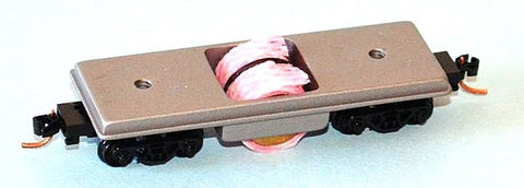 Centerline Products N Scale 60022 #D12 Rail Cleaner w/Micro-Trains Trucks and Couplers