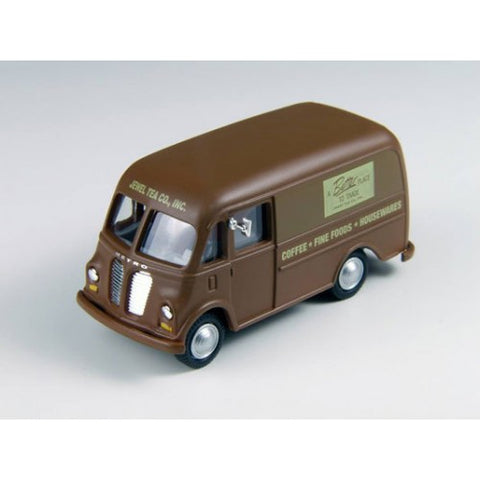 Classic Metal Works - Mini Metals HO scale International Metro Van (Jewel Tea Company) #CMW30370