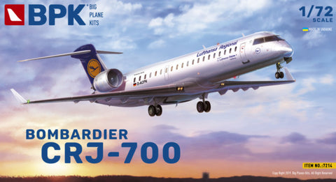 Big Planes Kits 1/72 scale Bombardier CRJ-700 - Kit 7214