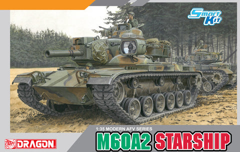 DRAGON MODELS 1/35 scale M60A2  STARSHIP #3562