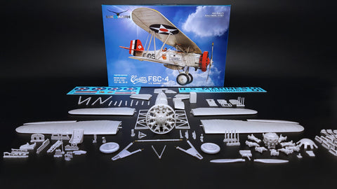 Lukgraph 1/32 scale Curtiss F6C-4 U.S. Marine Corps aircraft resin kit 32-21
