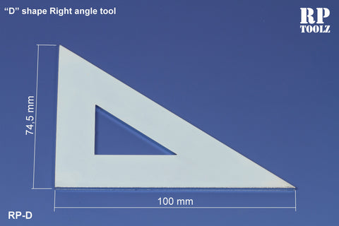 "RP Toolz ""D"" Shaped Right Angle Tool - RPTD-17"