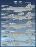 Furball Decals 1/48 Team Factory: Carrier Air Wing Eight at War - 48-066
