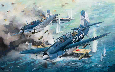 HPH Models 1/32 SB2C-4 Helldiver complete Multimedia Kit - HPH 32036R
