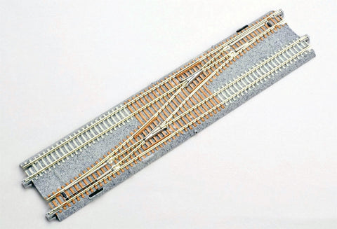 Kato #20-230 N-Gauge Unitrack Double-Track Crossover, Left Hand (1pc.)