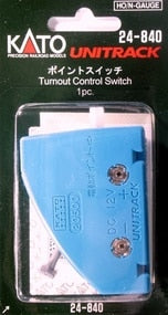 Kato #24-840 HO/N-Gauge Unitrack Turnout Control Switch - 1 piece