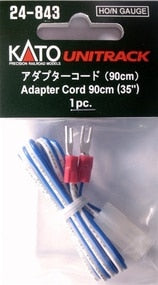 Kato #24-843 HO/N-Gauge Unitrack Adapter Cord 90cm (1 pc)