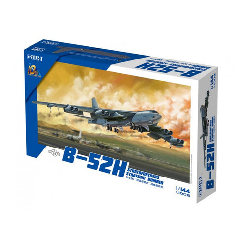 Great Wall Hobby 1/144 scale B-52H Stratofortress Strategic Bomber kit - L1008