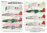 Lifelike Decals 1/48 244th Sentai Part II - 8 different options (re-print) -48-004(R)