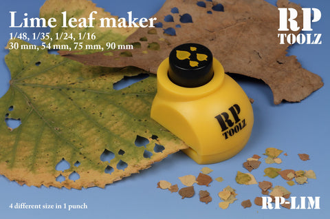 RP Toolz Lime Leaf Maker - Scale: 1/48, 1/35, 1/24, 1/16