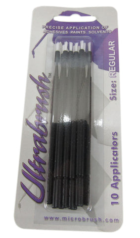 Ultrabrush MHU10 Regular (Blue) Brush Applicator (10pcs.)
