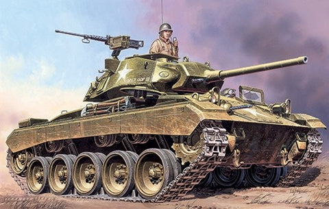 Italeri 1/35 M24 Chaffee Light Tank kit #6431