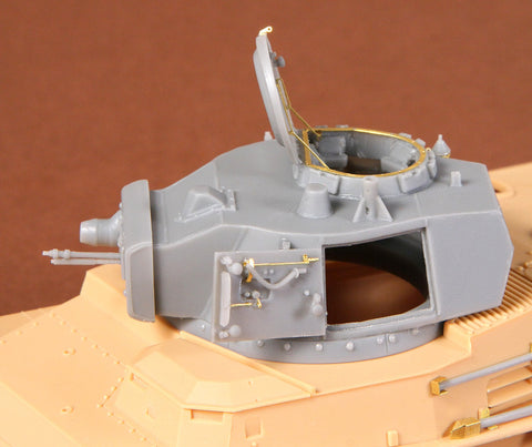 SBS Model 1/35 Toldi I B20 turret - No barrel - for Hobbyboss kit SBS35015
