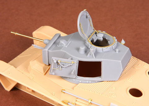 SBS Model 1/35 Toldi I B20 turret - with barrel - for Hobbyboss kit SBS35016