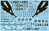 Speed Hunter Graphics 32007 1/32 decal Big Scale Eagles for Tamiya