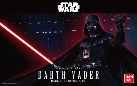 BAN DAI 0191408 1/12 scale Darth Vader Dark Lord of the Sith