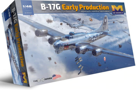 HK Models 1/48 scale B-17G Flying Fortress Early Prod - 01F001 Hong Kong Models