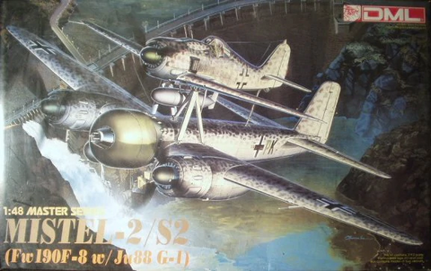 Dragon 1:48 Mistel-2/S-2 Fw190F-8 w/ Ju88 G-1 - #5510 - from collection
