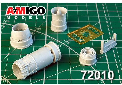 Advanced Modeling 1/72 scale R-29B-300 Exhaust Nozzle for ART Model Kits - AMG72010