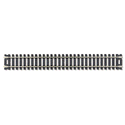 "Atlas #150 HO Scale - Code 100 - 9"" Straight Track - (Black Ties) Nickle Silver"