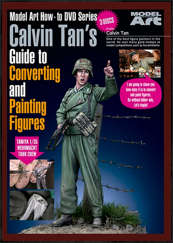 Model Art Calvin Tan's Guide to Converting and Painting Figures DVD NTSC format MDV-012