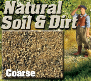 Express Scale Ballast SE0420 - Coarse Natural Soil & Dirt - 3/4 cup