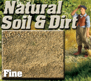 Express Scale Ballast SE0400 - Fine Natural Soil & Dirt - 3/4 cup