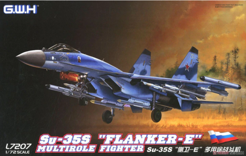 "Great Wall Hobby 1/72 scale Su-35S ""Flanker-E"" Multirole Fighter kit - L7207"