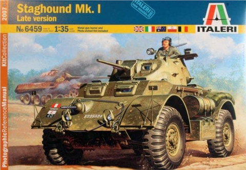 Italeri 1/35 Scale Staghound Mk.I Late version - Armor kit #6459