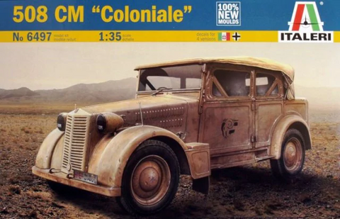 ITALERI 1/35 Scale 508 CM Coloniale model kit #6497