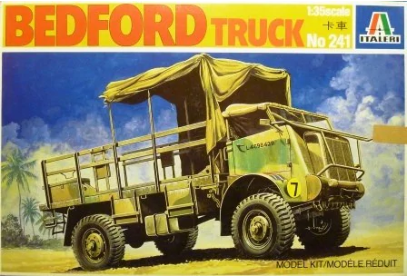 ITALERI 1/35 Scale Bedford Truck model kit #241