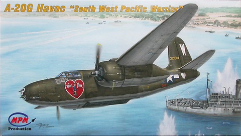 "MPM 1/72 Scale A-20G Havoc ""South West Pacific Warrior"" Model kit 72539 NOS"