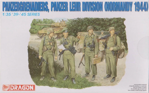 Dragon 1/35 Panzergrenadiers, Panzer Lehr Division (Normandy 1944) - kit #6111