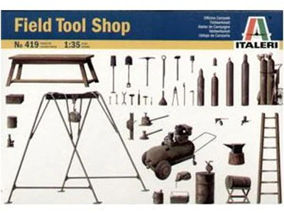Italeri 1/35 Scale - Field Tool Shop - Kit #419