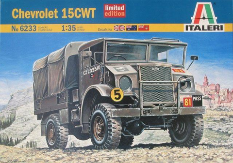 ITALERI 1/35 Scale Chevrolet 15CWT model kit #6233