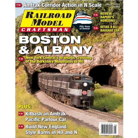 Railroad Model Craftsman May 2021 - Boston & Albany